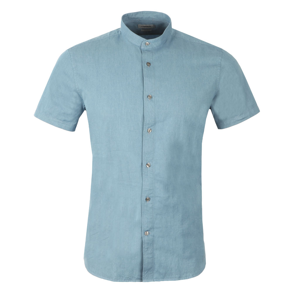 Daniel Linen Denim Short Sleeve Shirt