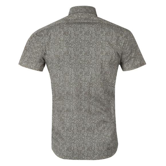 J.Lindeberg Mens Green Daniel Cl Short Sleeve Soft Print Shirt main image