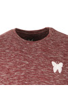 Good For Nothing Mens Red Marl Tee