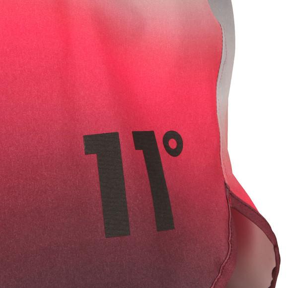 Eleven Degrees Mens Multicoloured Ombre Wave Retro Swim Shorts main image