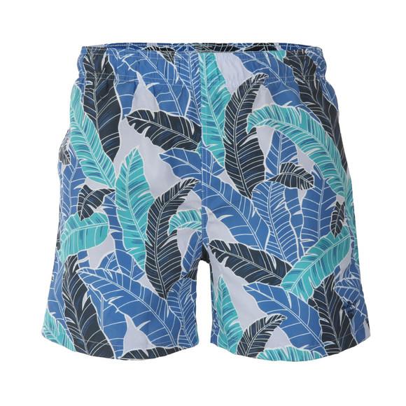 Gant Mens Blue Banana Leaves Swim Short main image
