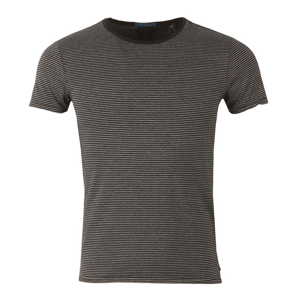 Scotch & Soda Mens Black Classic Crew Neck T Shirt main image