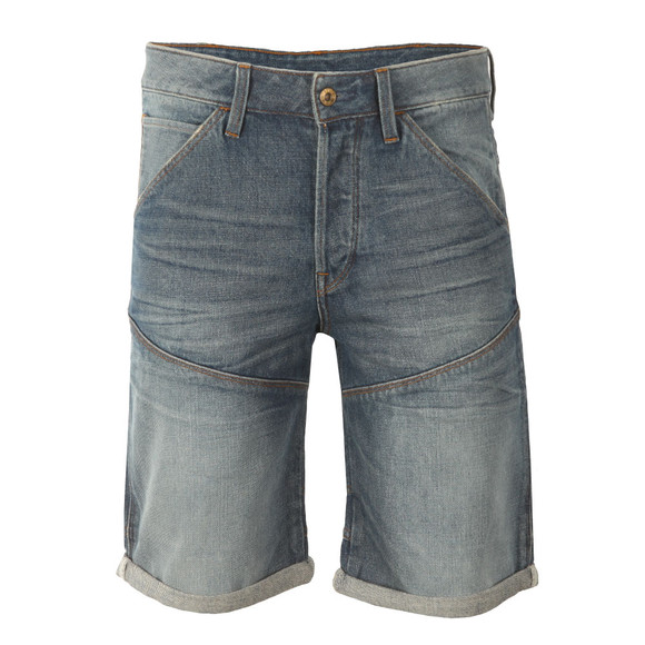 G-Star Mens Blue Tobe Denim Short main image