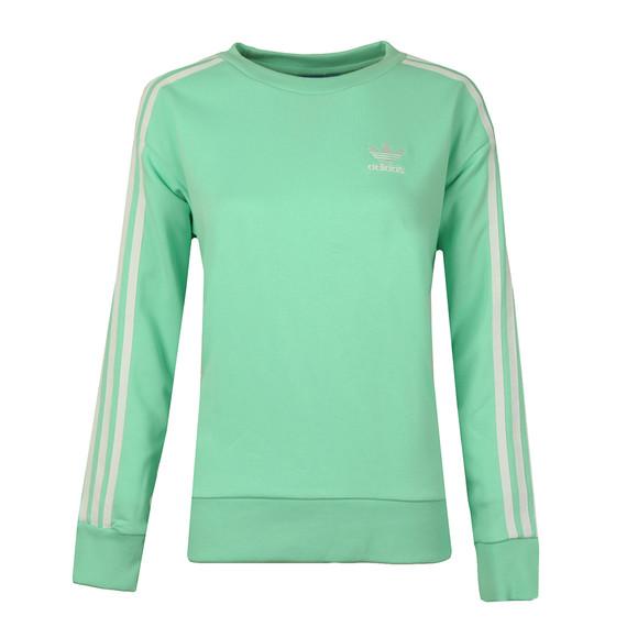 Adidas Originals Womens Green 3S A Line Sweat main image