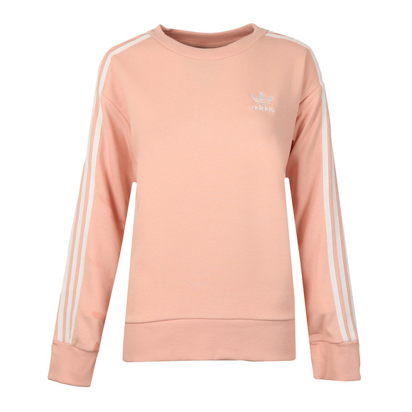 Adidas Originals Womens Pink 3S A Line Sweat main image