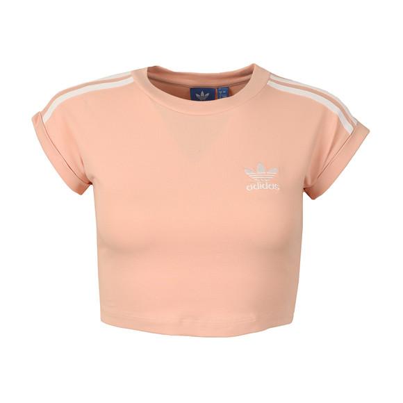 Adidas Originals Womens Pink Cropped Top main image