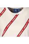 Adidas Originals Womens White BF Roll Up Tee