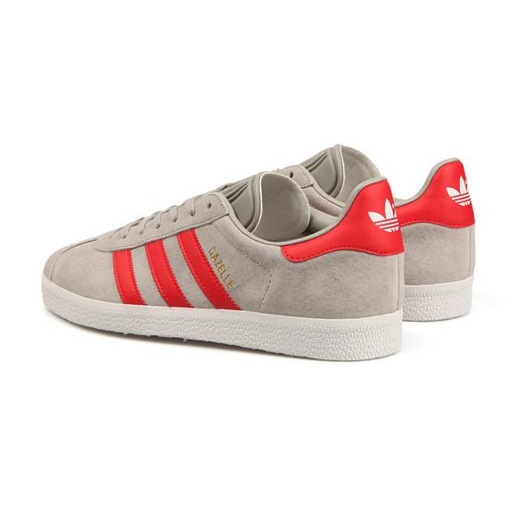 Adidas Originals Boys Grey Gazelle 2 CF Trainer main image