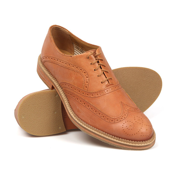 J Shoes Mens Brown Spencer Brogue main image