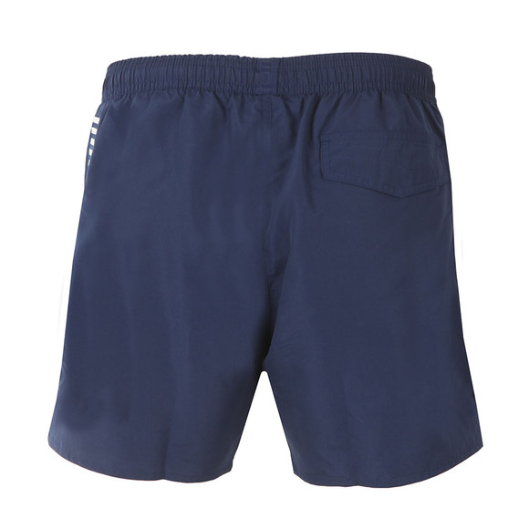 EA7 Emporio Armani Mens Blue Seaworld Core Swim Short main image