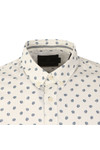 Scotch & Soda Mens White Classic Longsleeve Shirt