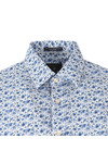 Gant Mens White Printed Flower LS Shirt