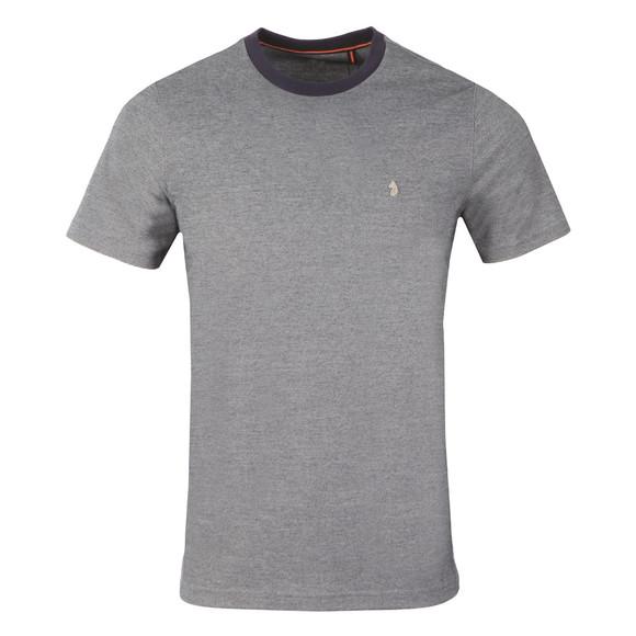 Luke Mens Blue Special Charmers Cuff Detail T-Shirt main image