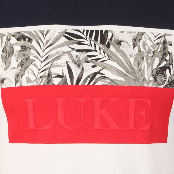 Luke Mens Blue Pop Block T-Shirt main image