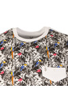Luke Mens Multicoloured Jungle Acid T-Shirt