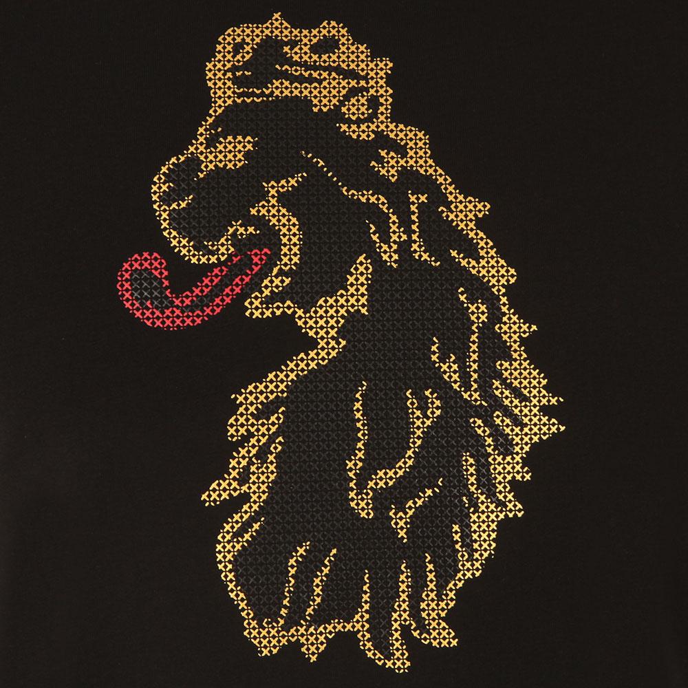 Cross Stitch Lion T-Shirt main image