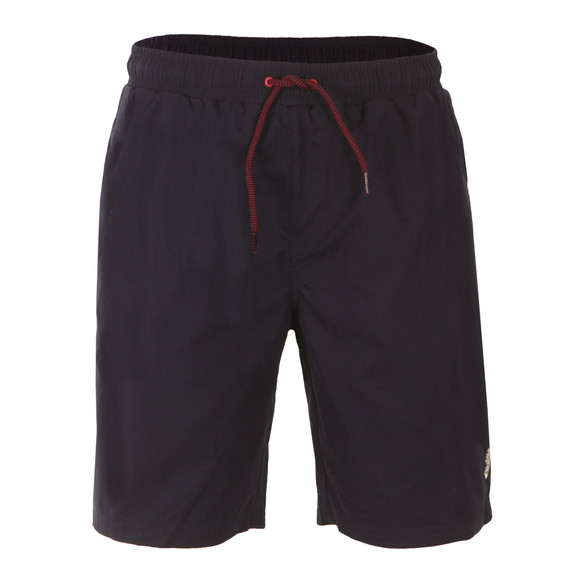 Luke Mens Blue Cagy Knee Length Swim Short main image
