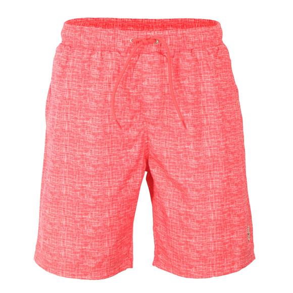 Luke Mens Red Cagy Knee Length Swim Short main image