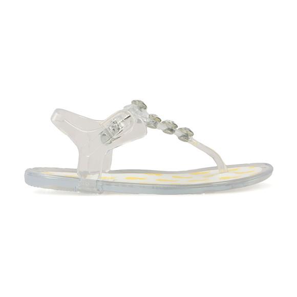 Holster  Girls Transparent Tropical Sandal main image