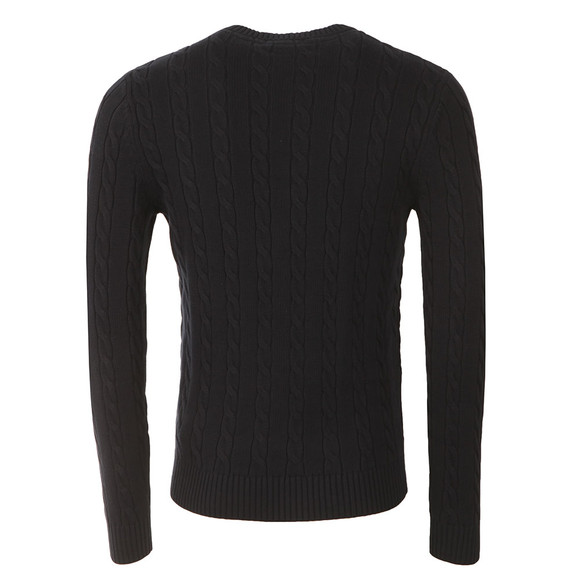 Henri Lloyd Mens Blue Kramer Crew Neck Jumper main image