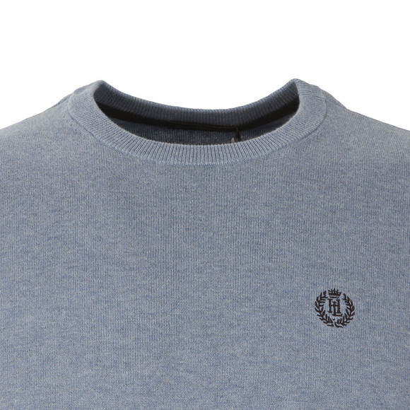 Henri Lloyd Mens Blue Moray Crew Neck Jumper main image