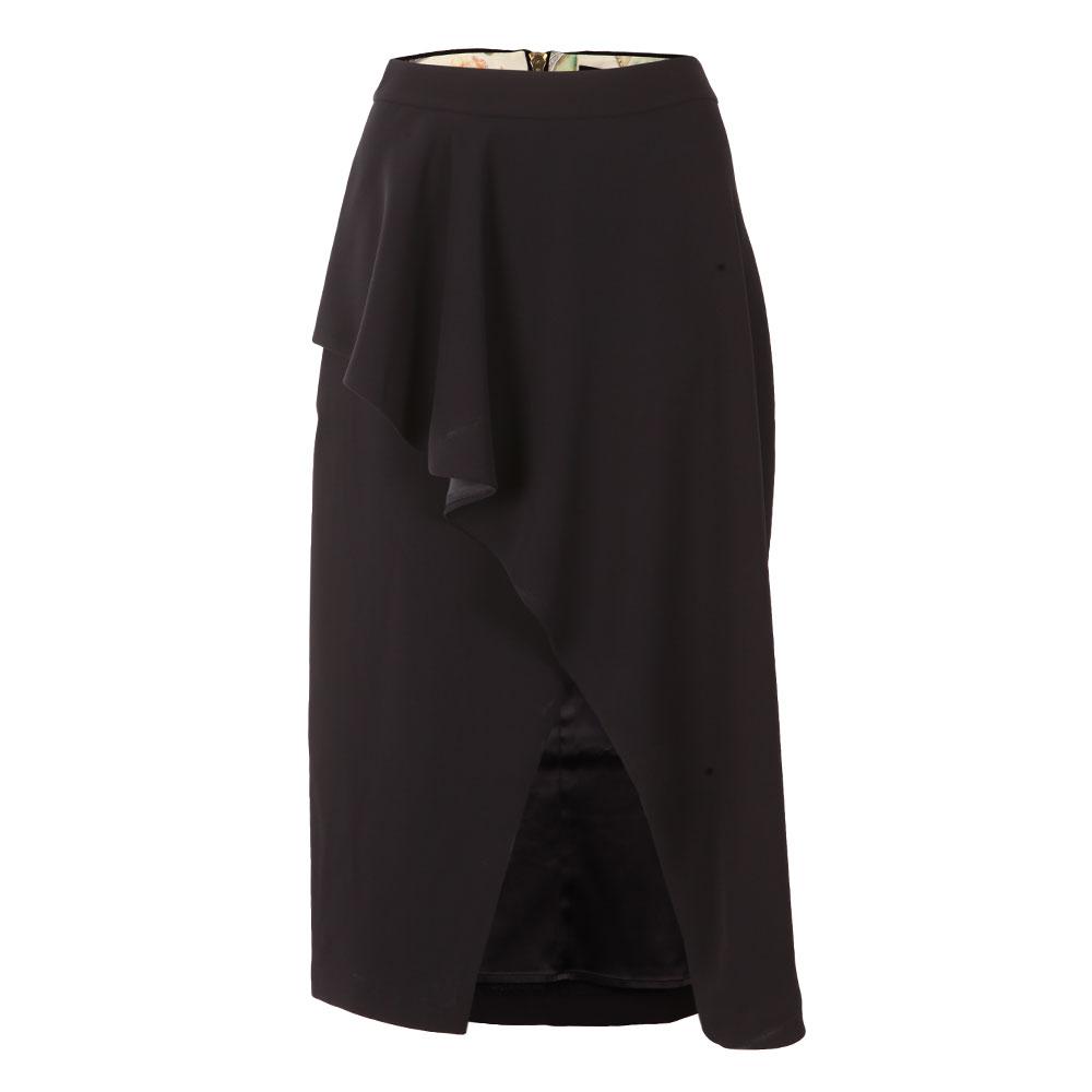 Daffnie Frill Front Asymmetric Skirt
