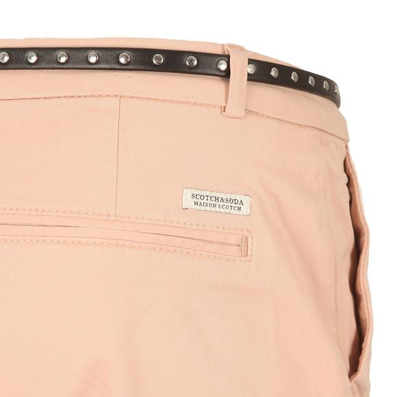 Maison Scotch Womens Pink Peached Twill Pant main image