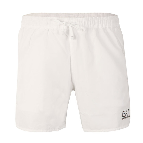 EA7 Emporio Armani Mens White Seaworld Core Swim Short main image