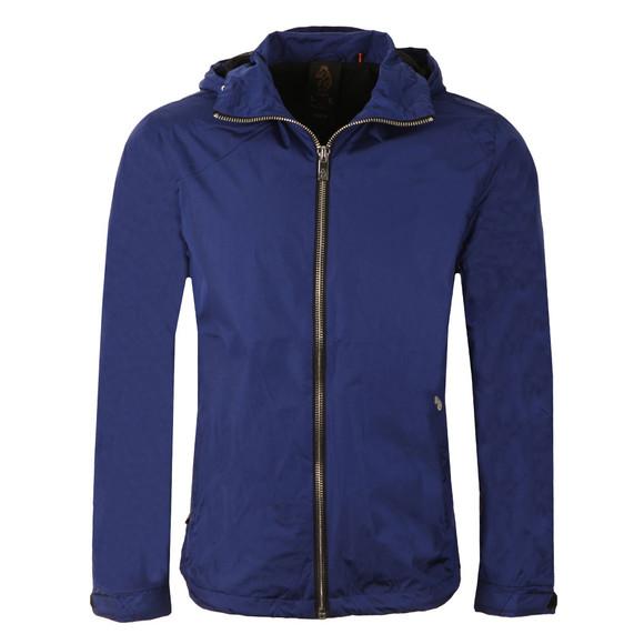 Luke Mens Blue Everyorder Hooded Technical Jacket main image