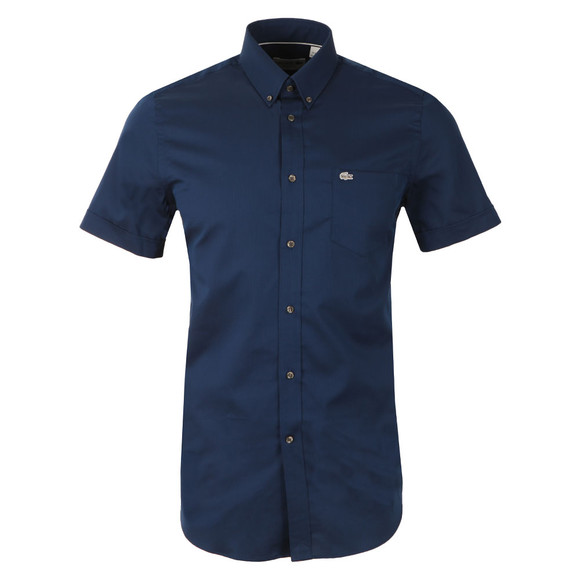 Lacoste Mens Blue S/S CH3977 Shirt main image