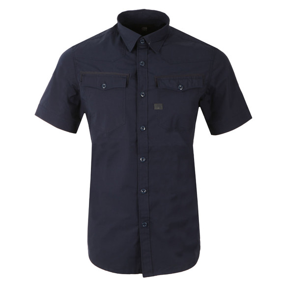 G-Star Mens Blue 3301 SS Shirt main image