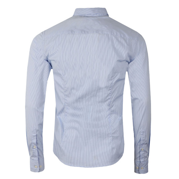 Armani Jeans Mens Blue 3Y6C13 Stripe Shirt main image