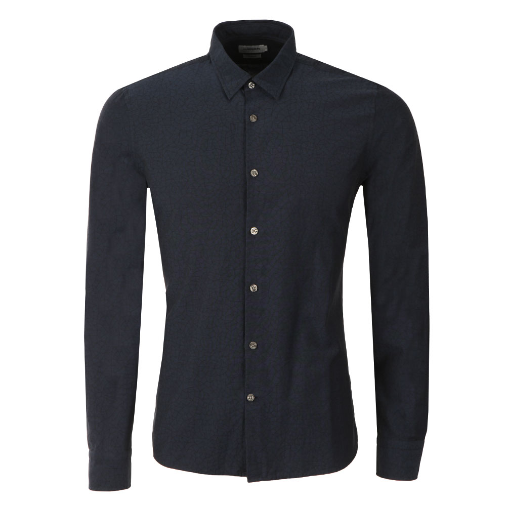 Daniel Cracked Jacquard Shirt main image