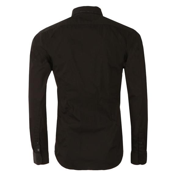 Scotch & Soda Mens Black Classic Longsleeve Shirt main image