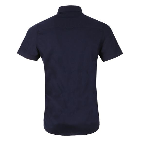 Luke Mens Blue Adam Keyte SS Baseball Collar Shirt main image