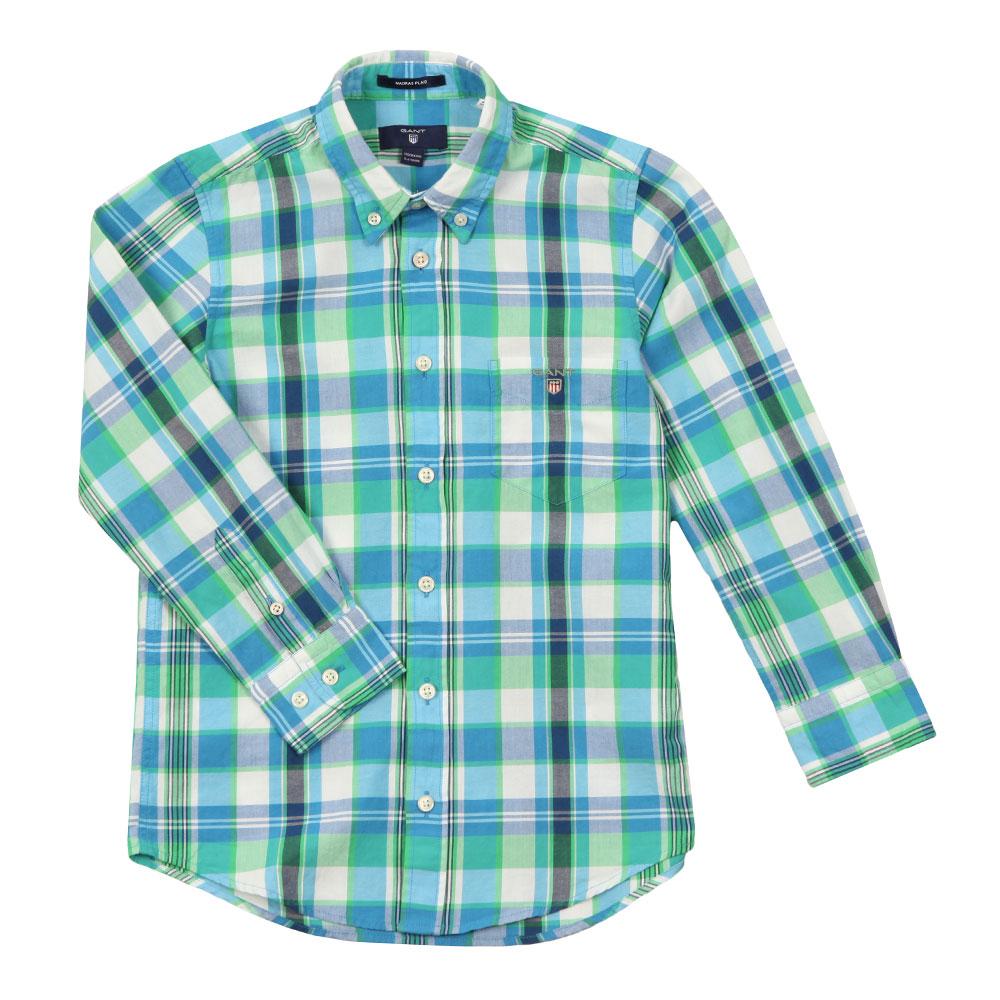 Large Madras Check Shirt