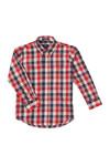 Gant Boys Red Small Broadcloth Check Shirt