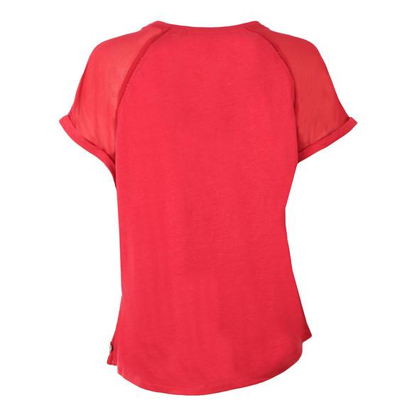 Maison Scotch Womens Red Sleeveless Jersey T Shirt main image