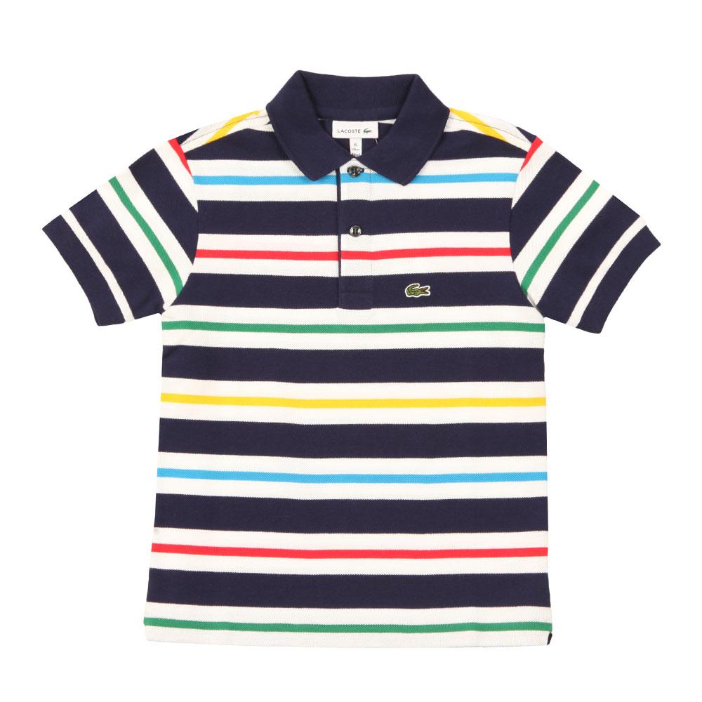 Boys PJ2890 Stripe Polo main image