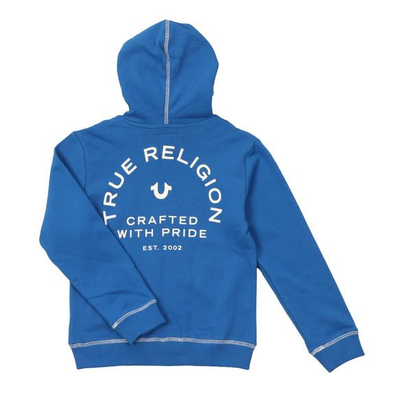 True Religion Boys Blue Horseshoe Logo Hoody main image