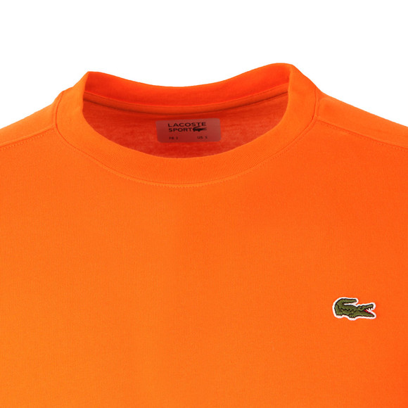 Lacoste Sport Mens Orange TH7618 Plain T-Shirt main image
