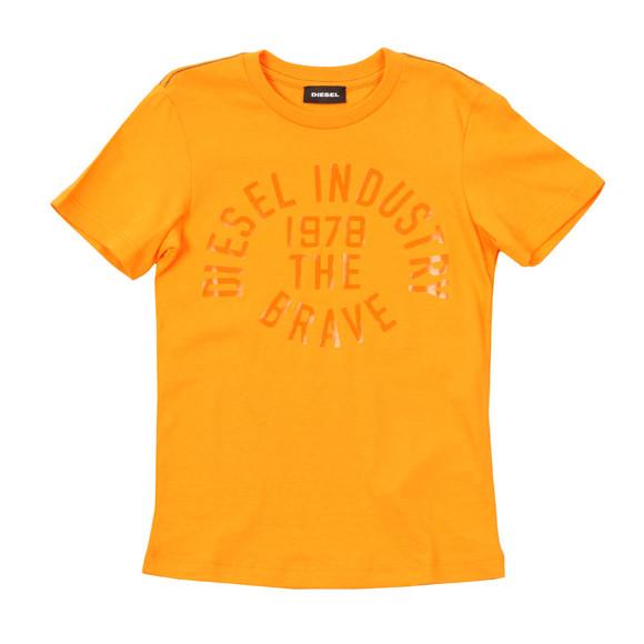 Diesel Boys Orange Boys Taigo Slim T Shirt main image