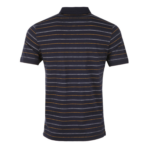 Lyle and Scott Mens Blue Pick Stitch Polo Shirt main image