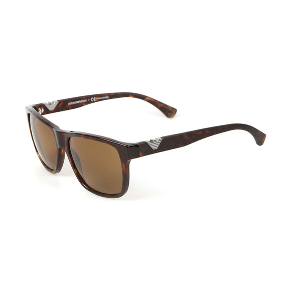 Emporio Armani Mens Brown EA4035 Sunglasses main image