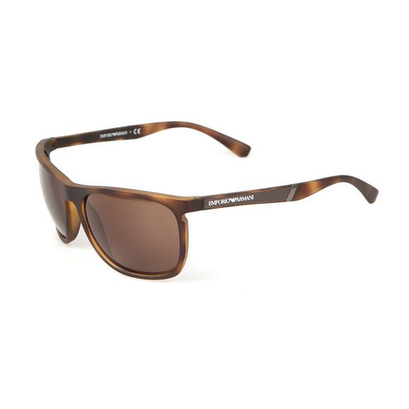 Emporio Armani Mens Brown EA 4107 Sunglasses main image
