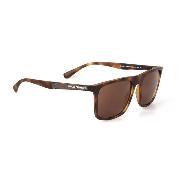 Emporio Armani Mens Brown EA 4097 Sunglasses main image
