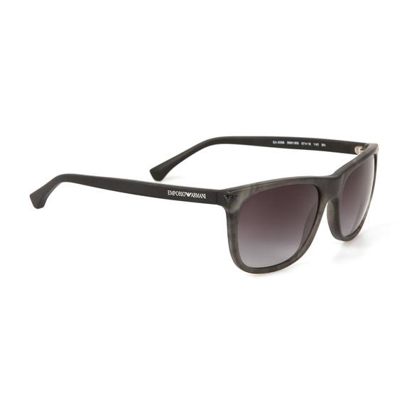 Emporio Armani Mens Grey EA4056 Sunglasses main image
