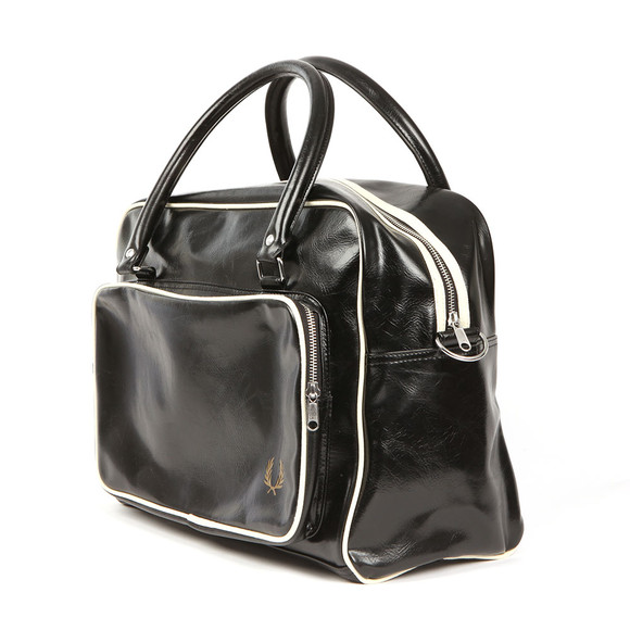 Fred Perry Mens Black Classic Holdall main image