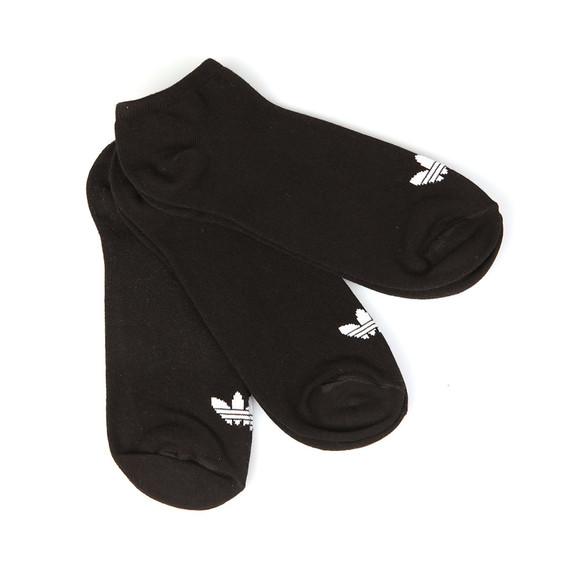 Adidas Originals Mens Black 3 Pack Trefoil Sock main image