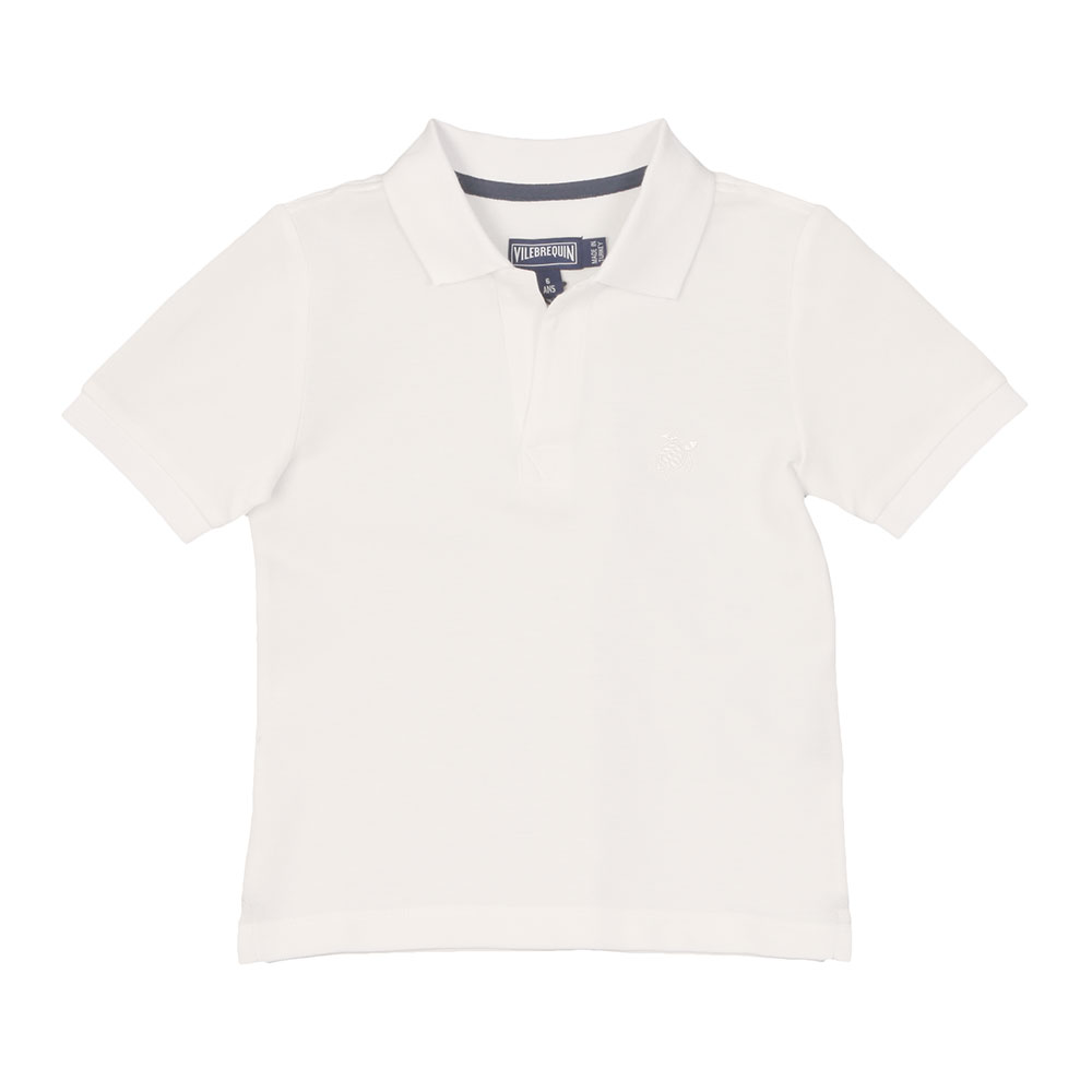 Boys Pantin Pique Polo Shirt main image